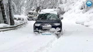 Download Snow Drive 2017 | Mitsubishi Pajero Sport | Extreme Off Road | Snow Chains | Himachal | India | Video
