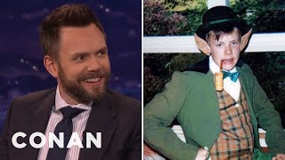 Download Joel McHale Dressed As A ″Young Conan″ - CONAN on TBS Video