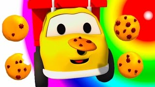 Download The Cookies : Learn Numbers with Ethan the Dump Truck | Educational cartoon for children Video