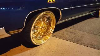 Download CANDY BLUE DONK VERT ON 24″ ALL GOLD WITH VOGUE TIRES!! Video