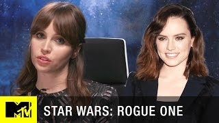 Download Star Wars: Rogue One PSA | Felicity Jones is NOT Daisy Ridley | MTV Video
