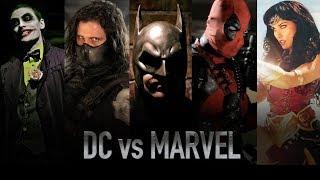 Download DC vs MARVEL - LIVE ACTION BATTLES Video