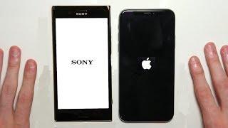 Download iPhone X vs Sony Xperia XZ Premium Speed Test & Camera Comparison! Video