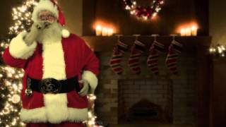 Download Santa Caught on Tape! - Fireplace & Tree Video
