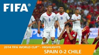 Download SPAIN v CHILE (0:2) - 2014 FIFA World Cup™ Video