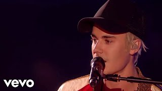 Download Justin Bieber - Love Yourself & Sorry - Live at The BRIT Awards 2016 ft. James Bay Video
