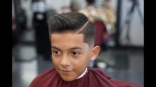 Download Barber Tutorial : THE COMB OVER! drop fade Video
