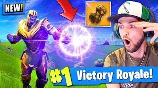 Download *NEW* THANOS GAMEPLAY in Fortnite: Battle Royale! (INFINITY GAUNTLET) Video