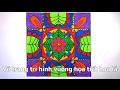 Download Vẽ trang trí hình vuông họa tiết hoa lá - trang trí hình vuông lớp 7- HOW TO DRAW MANDALA Video