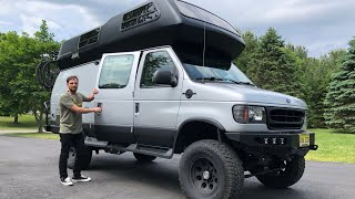 Download MEGA VANLIFE TOUR   4x4 Overland Off Road Airstream B190 Ujoint RV Conversion Motor Home Video
