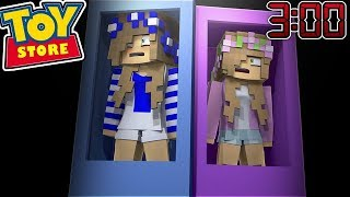 Download DO NOT STAY IN THE TOYSTORE AT 3:00 AM w/Little Kelly (Minecraft ToyStore) Video