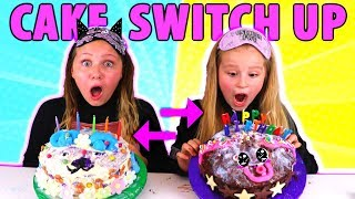 Download MYSTERY BOX BIRTHDAY CAKE SWITCH UP CHALLENGE!! Video