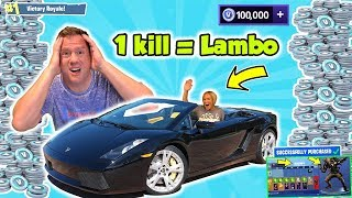Download Fortnite Kid's Angry Mom Wins a Lamborghini with 1 Kill | DavidsTV Video