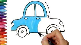 Download Araba Çizim Yapma | Nasıl Çizilir | Çocuk ve Bebek için Çiziyorum Boyuyorum Video