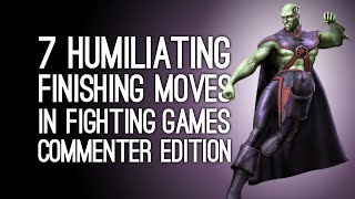 Download The 7 Most Humiliating Finishing Moves in Fighting Games (Commenter Edition) Video