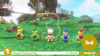 Download Super Mario Odyssey Guide-All Koopa Freerunner Races | EASY 1st Place for Beginners [w/Gold Koopa] Video