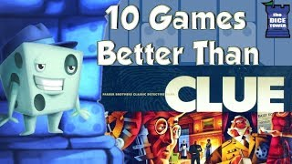 Download 10 Games Better Than Clue - with Tom Vasel Video