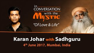 Download Karan Johar In Conversation with Sadhguru - Live from Mumbai - June 4, 2017 Video