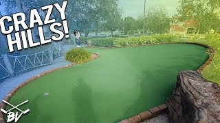 Download THESE ARE SOME OF THE BEST MINI GOLF HILLS I'VE EVER SEEN! | Brooks Holt Video