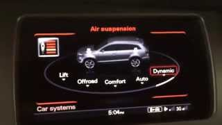 Download AUDI Adaptive Air Suspension in 2015 Q7 Demonstration Video