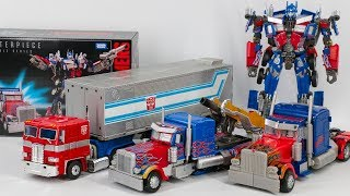Download Transformers MasterPiece Movie Series MPM-4 Optimus Prime Leader Optimus Prime Car Robot Toys Video