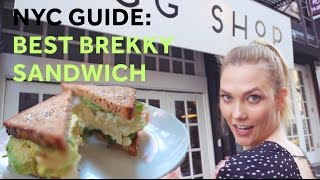 Download How to Make the Best Breakfast Sandwich in NYC | Karlie Kloss Video