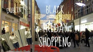 Download Black Friday Shopping in Dublin || Vlog! Video