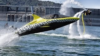 Download Robotic Dolphin and Flying Water Car - In 4K! With Jetovator and Seabreacher Video