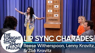 Download Lip Sync Charades with Reese Witherspoon, Lenny Kravitz and Zoë Kravitz Video