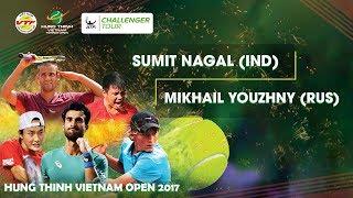 Download FULL | Sumit NAGAL 1-2 Mikhail YOUZHNY | VÒNG 1 GIẢI QV QT HƯNG THỊNH VIETNAM OPEN 2017 Video