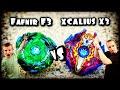 Download BeyBlade Burst Evolution Drain Fafnir F3 vs Surge Xcalius X3 Battle | Hasbro SwitchStrike BeyBlades Video