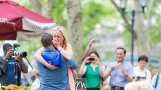 Download Bryant Park Flash Mob Proposal Video