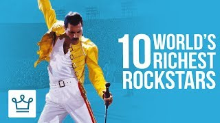Download Top 10 Richest Rockstars Of All Time Video
