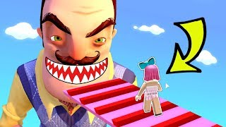 Download Roblox: *INSANE* ESCAPE HELLO NEIGHBOR OBBY!!! Video