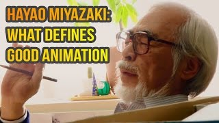 Download Hayao Miyazaki: What defines good animation Video