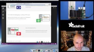 Download Raspberry Pi Quick Look at Visual Studio Code for Pi Python Coding w/ Tony D! @adafruit #LIVE Video