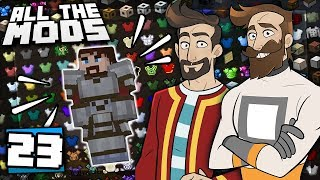 Download Minecraft All The Mods #23 - The Mayor's Armour Video