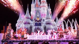 Download Celebrate The Season Show at Mickey's Very Merry Christmas Party 2014 - Jolly Holidays Video