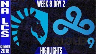 Download TL vs C9 Highlights | NA LCS summer 2018 Week 8 Day 2 | Team Liquid vs Cloud9 Video