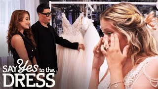 Download Bride Picks a Dress Double Her Budget! | Say Yes To The Dress Lancashire Video