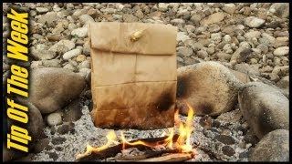 Download Cooking Bacon & Eggs In A Paper Bag - ″Tip Of The Week″ E34 Video