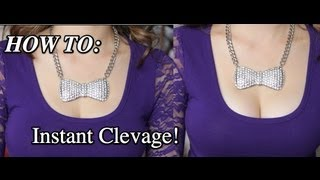 Download How To Get More Cleavage Instantly (Tip Thursday) Video