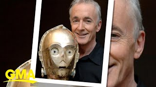 Download Anthony Daniels opens up about his iconic role as C-3PO l GMA Video