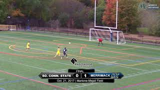 Download MSOC: Highlights vs Southern Conn (10-21-17) Video