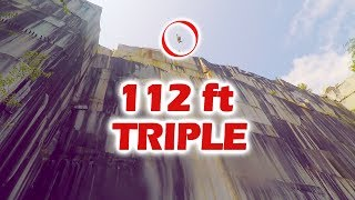 Download VERMONT CLIFF JUMPING 112 ft TRIPLE Video