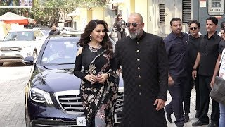 Download Sanju Baba's MACHO ENTRY With Ex Gf Madhuri Dixit At Kalank Trailer Launch Video