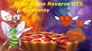 Download 🔴Pokemon Giveaway Be A Bee Reverse GTS Video
