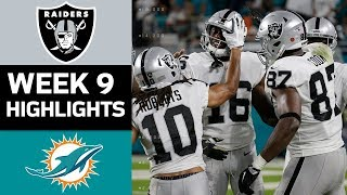Download Raiders vs. Dolphins | NFL Week 9 Game Highlights Video