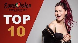 Download Top 10 Vocalists | Eurovision 2018 Video