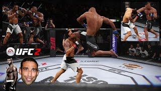 Download OVEREEMED WERDUMS FACE!!! EA Sports UFC 2 Ranked Online! Video